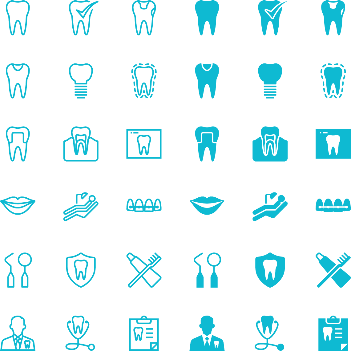 icon pack - mendelsohn dental