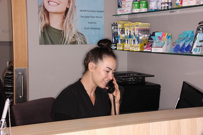 Reception - mendelsohn dental