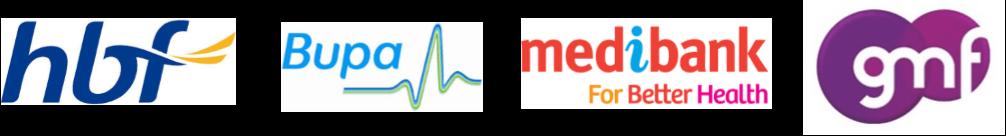Health fund logo- mendelsohn dental